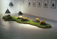 """""""Space&Space:Restoration of Communication"""" Pine Tree Gallery, Seoul, 1993"""